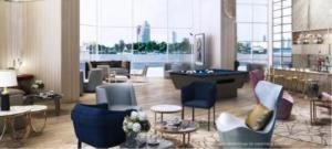 BKK Condos Agency's 1 bedroom condo for sale at Magnolias Waterfront Residences 3