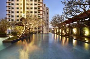 BKK Condos Agency's 1 bedroom condo for sale with tenant at Circle Condominium 2