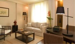 BKK Condos Agency's 2 bedroom condo for rent at Saladaeng Colonnade 1