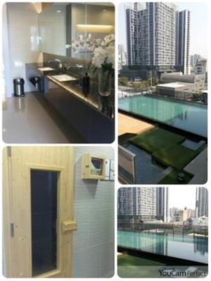 BKK Condos Agency's 1 bedroom condo for rent at Rhythm Asoke 1