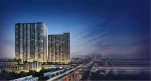 BKK Condos Agency's 1 bedroom condo for sale at The Metropolis Samrong Interchange   One step from BTS 8