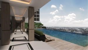BKK Condos Agency's 1 bedroom condo for sale at The Metropolis Samrong Interchange   One step from BTS 5