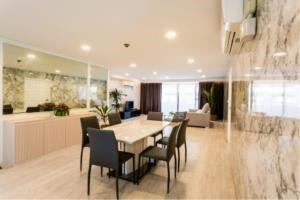 BKK Condos Agency's 3 bedroom condo for rent at Baan Mitra 6