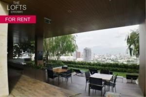 BKK Condos Agency's 1 bedroom condo for rent at The Lofts Ekkamai 1