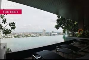 BKK Condos Agency's 1 bedroom condo for rent at The Lofts Ekkamai 3