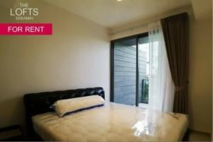 BKK Condos Agency's 1 bedroom condo for rent at The Lofts Ekkamai 4