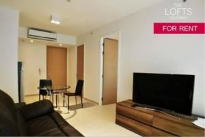 BKK Condos Agency's 1 bedroom condo for rent at The Lofts Ekkamai 6