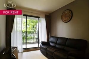 BKK Condos Agency's 1 bedroom condo for rent at The Lofts Ekkamai 7