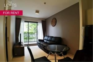 BKK Condos Agency's 1 bedroom condo for rent at The Lofts Ekkamai 8