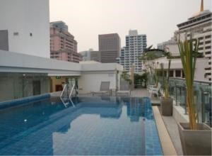 BKK Condos Agency's 1 bedroom condo for rent at Focus Saladaeng 3