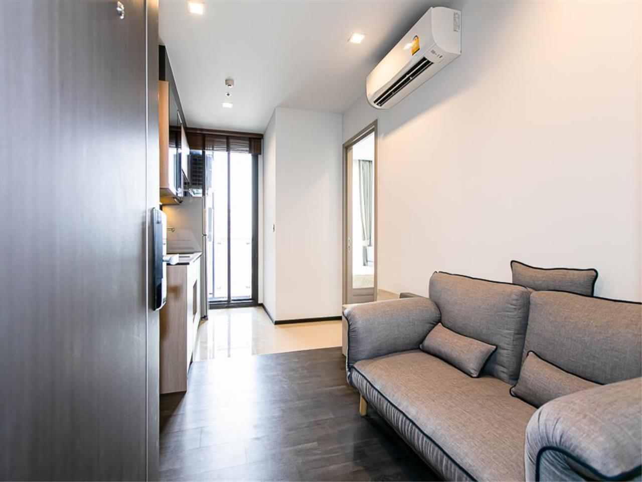 Plus Property Agency's Rent : CD186714 THE LINE ASOKE-RATCHADA Condominium New Petchburi - Rama 9 Bangkok 9