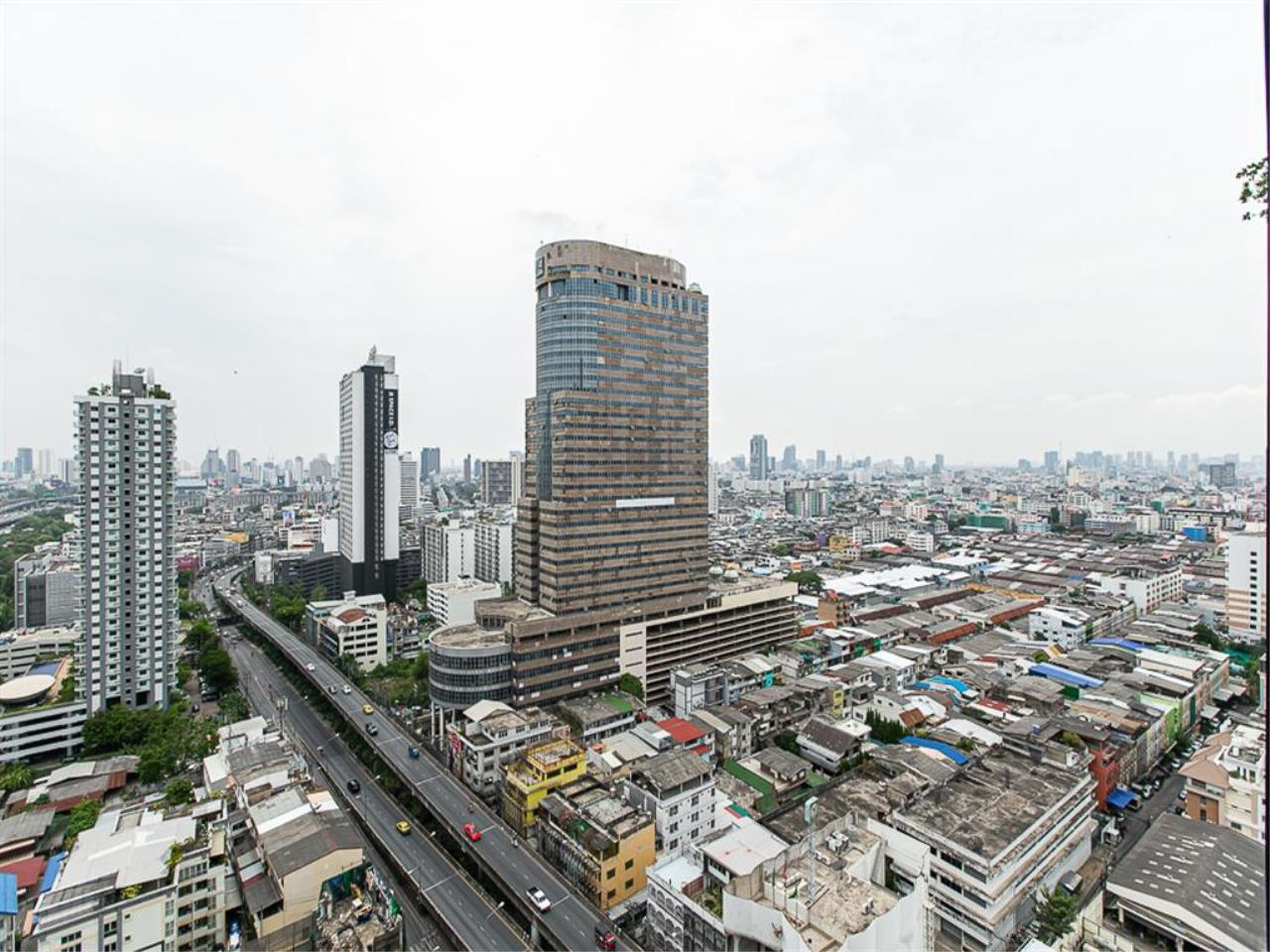 Plus Property Agency's Rent : CD186714 THE LINE ASOKE-RATCHADA Condominium New Petchburi - Rama 9 Bangkok 10