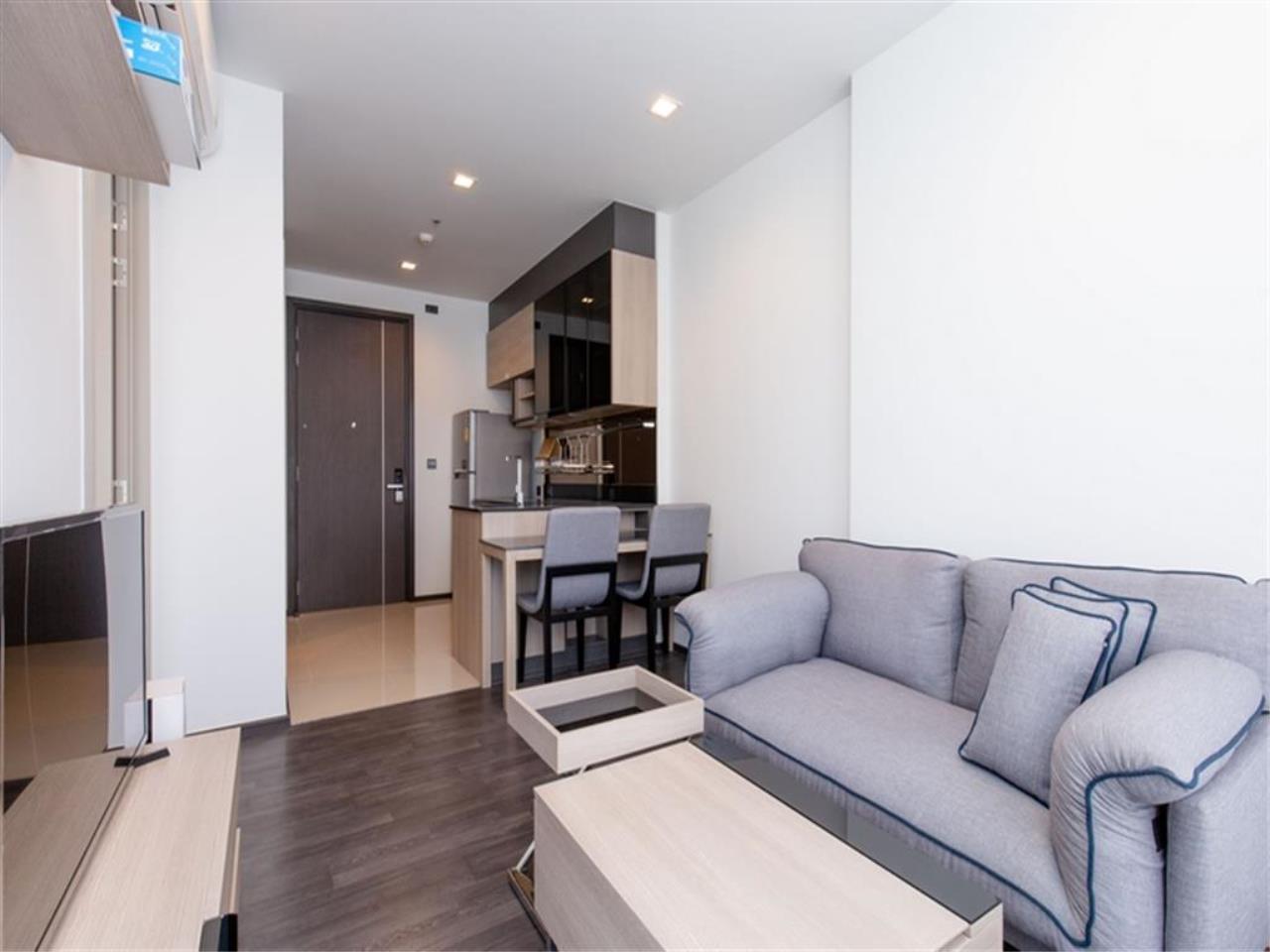 Plus Property Agency's Rent : CD188863 THE LINE ASOKE-RATCHADA Condominium New Petchburi - Rama 9 Bangkok 19