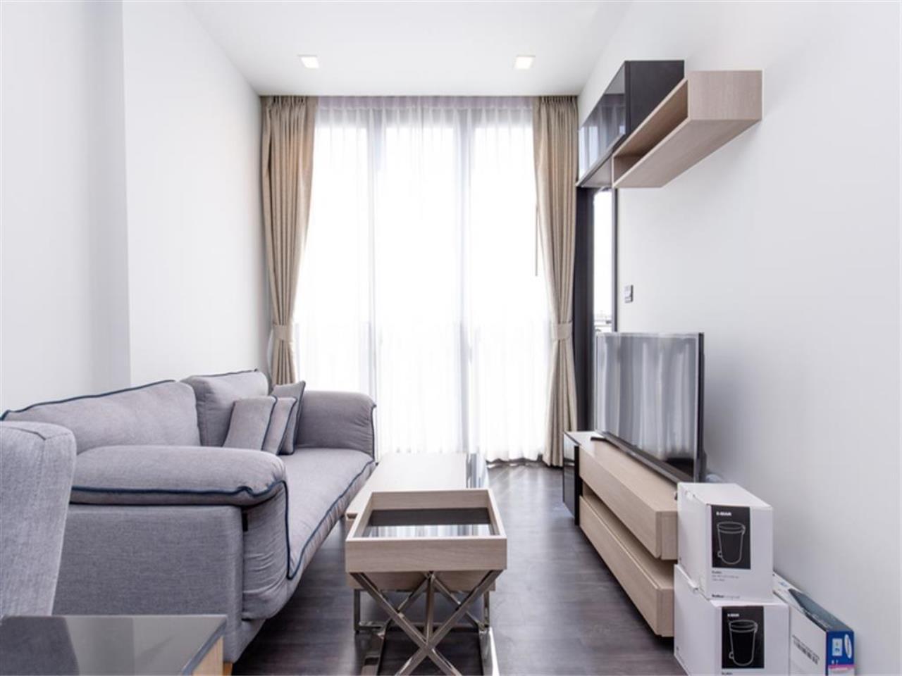 Plus Property Agency's Rent : CD188866 THE LINE ASOKE-RATCHADA Condominium New Petchburi - Rama 9 Bangkok 13