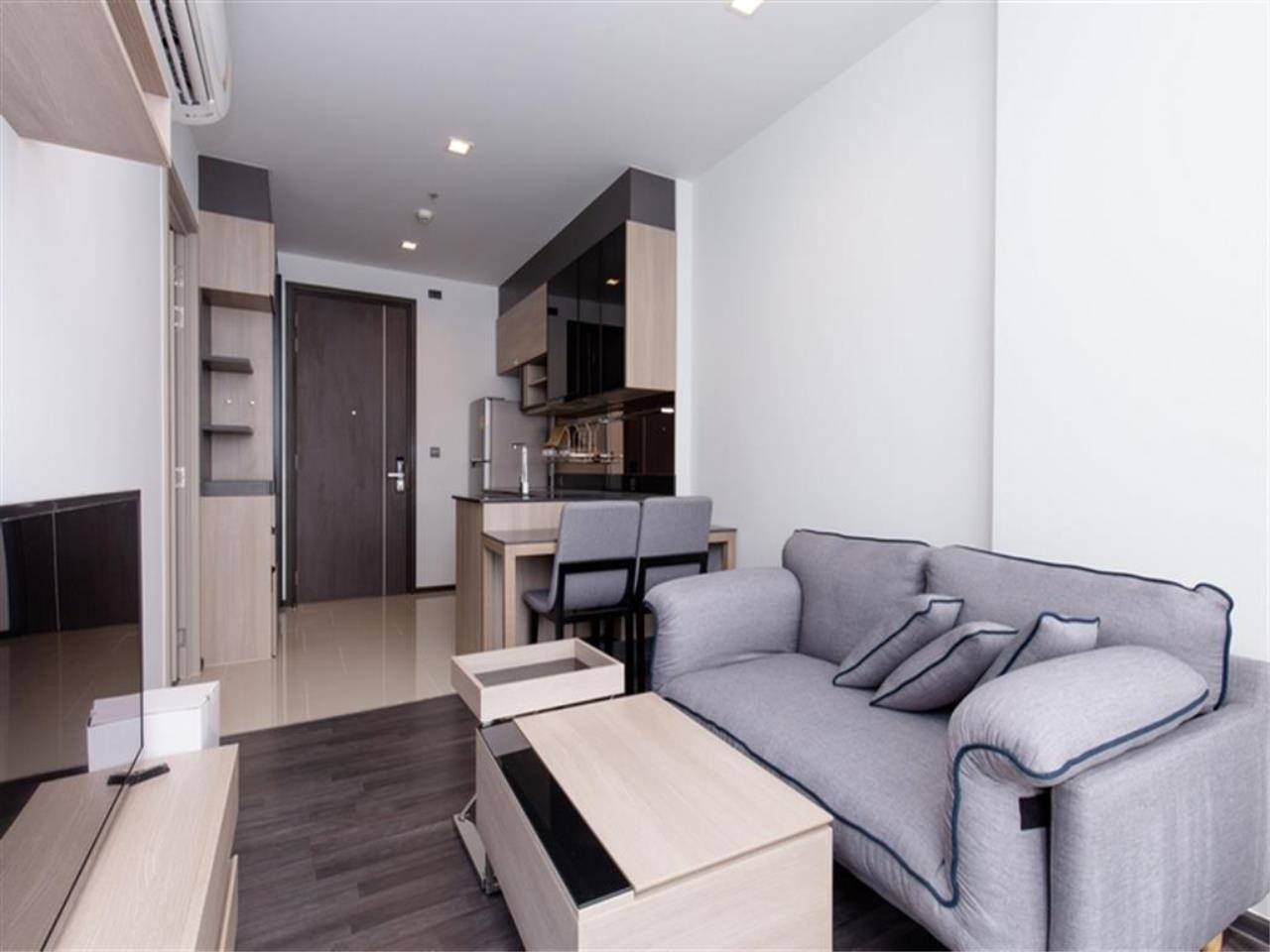 Plus Property Agency's Rent : CD188866 THE LINE ASOKE-RATCHADA Condominium New Petchburi - Rama 9 Bangkok 16