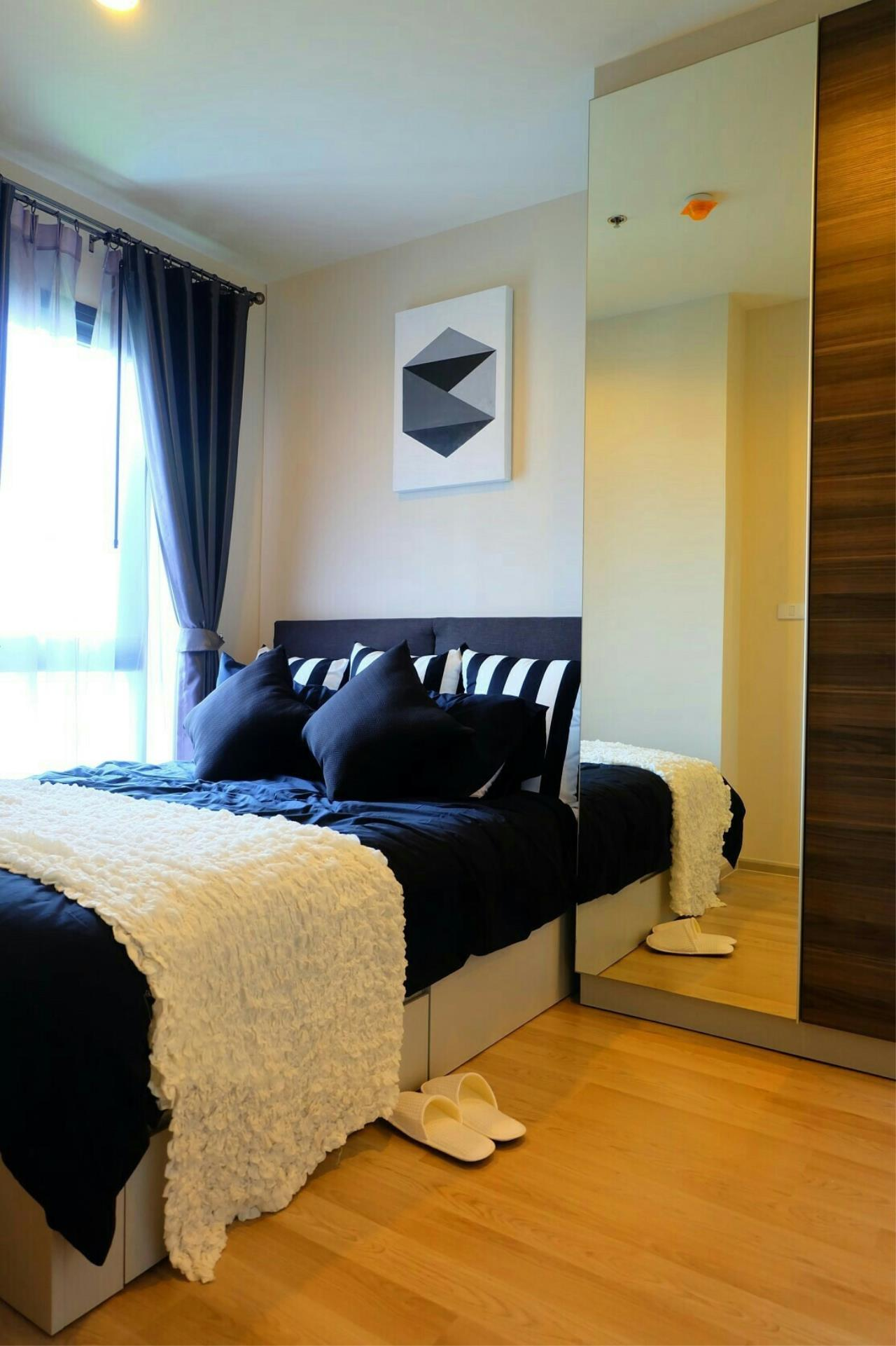 Arken Estate Agency Property Agency near BTS & MRT Agency's Centric Huaikwang by SC Asset 1 bed 1 bath 1
