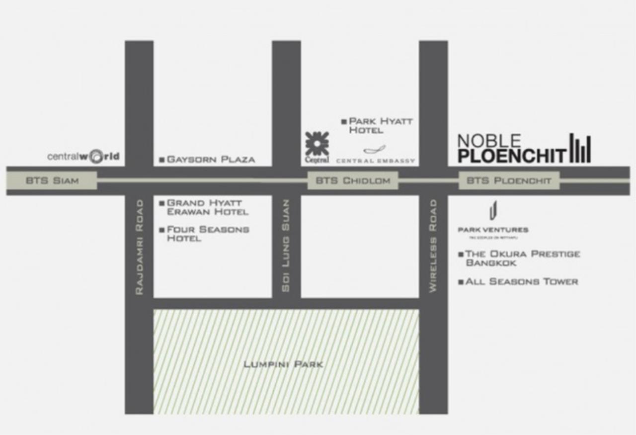 Arken Estate Agency Property Agency near BTS & MRT Agency's Noble Phloenchit 1 bed 1 bath 8
