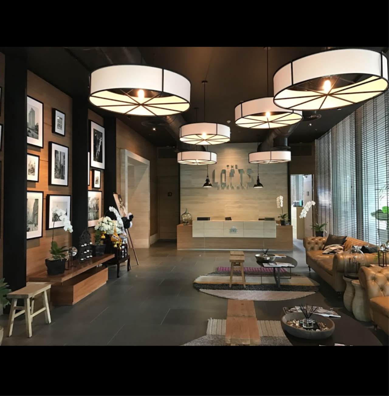 Arken Estate Agency Property Agency near BTS & MRT Agency's The Lofts Ekkamai 1 bed 1 bath 5