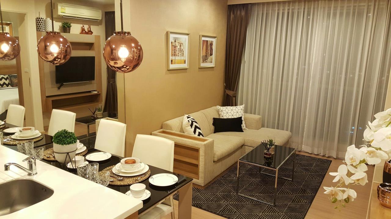 Arken Estate Agency Property Agency near BTS & MRT Agency's Rhythm Sukhumvit 50 1 bed 1 bath 1