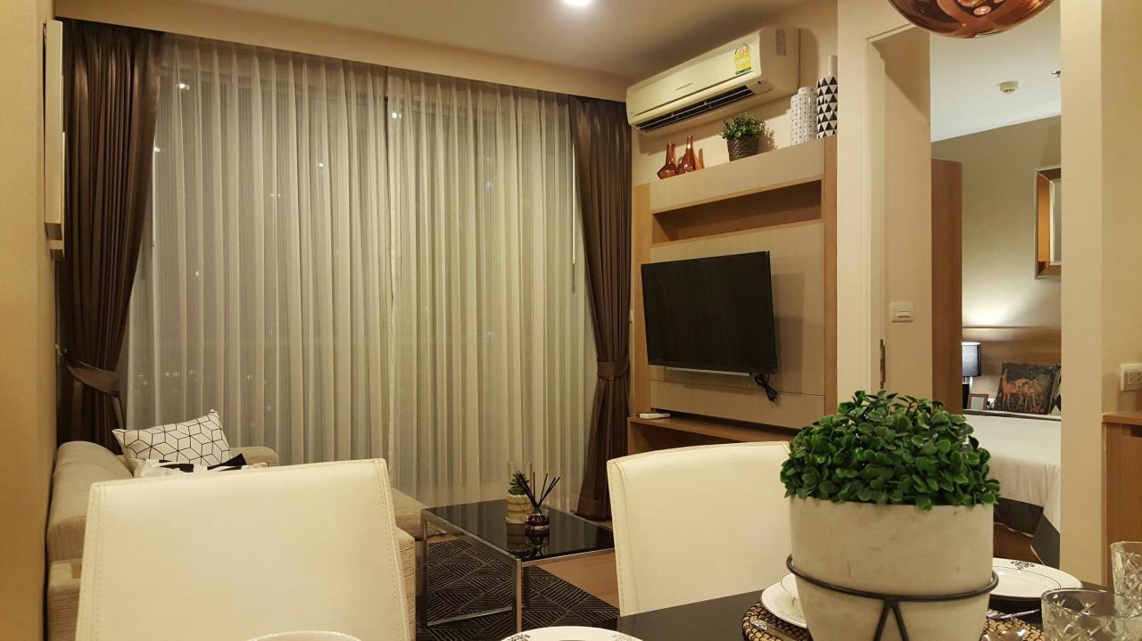 Arken Estate Agency Property Agency near BTS & MRT Agency's Rhythm Sukhumvit 50 1 bed 1 bath 3