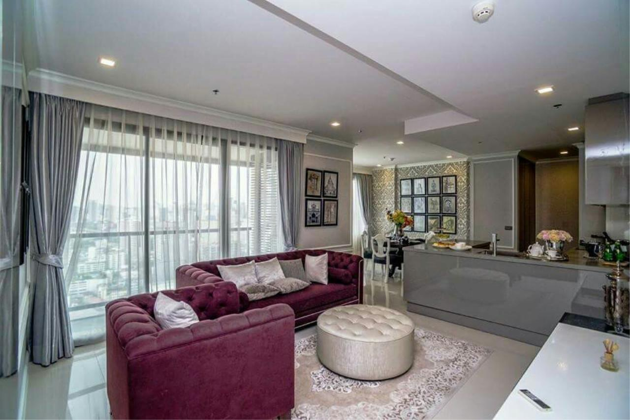 Arken Estate Agency Property Agency near BTS & MRT Agency's M Phayathai..Penthouse 3 bed 2 bath 1