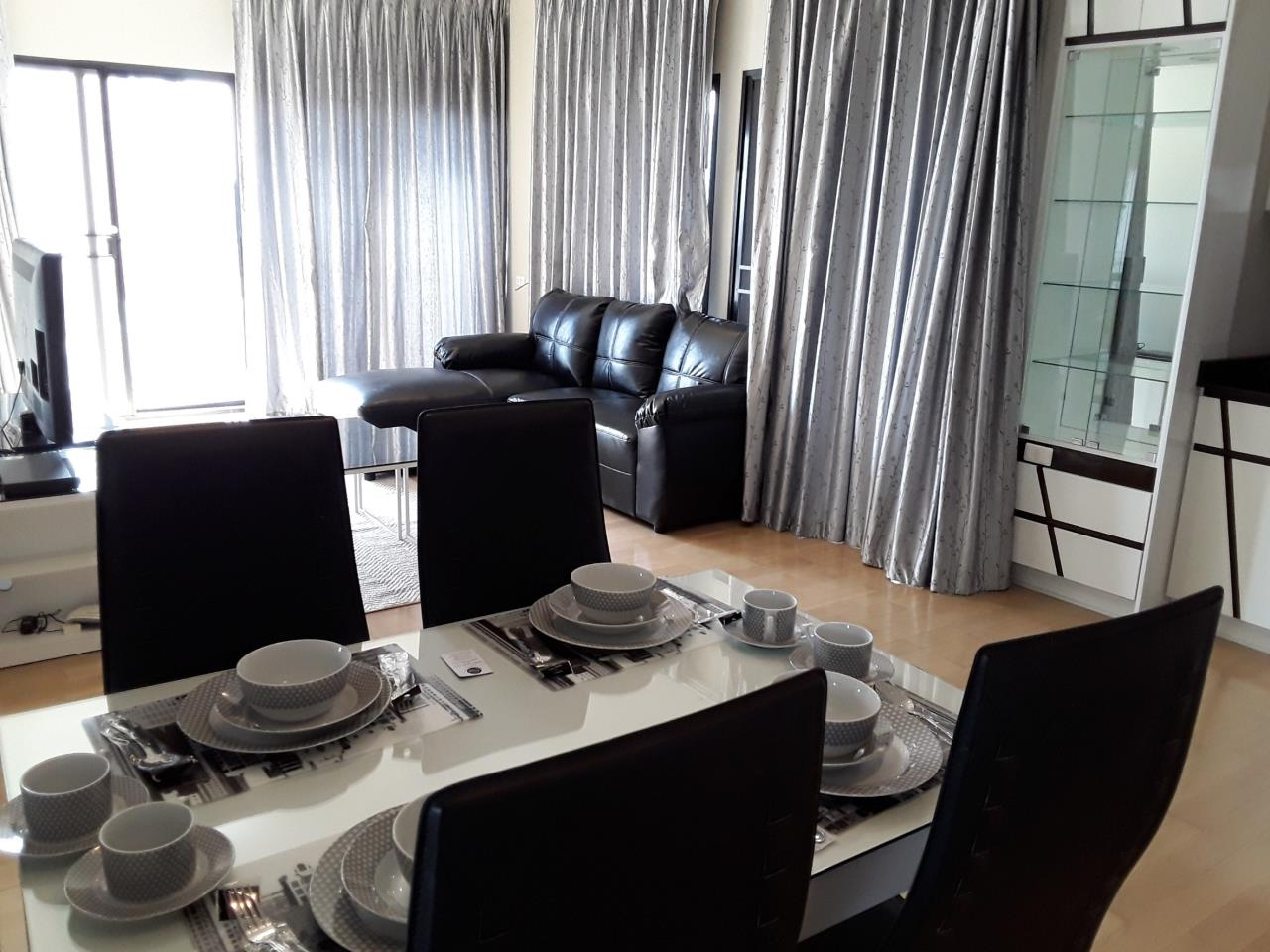 Arken Estate Agency Property Agency near BTS & MRT Agency's For Rent.. Noble Reveal 2 bed 2 bath 4