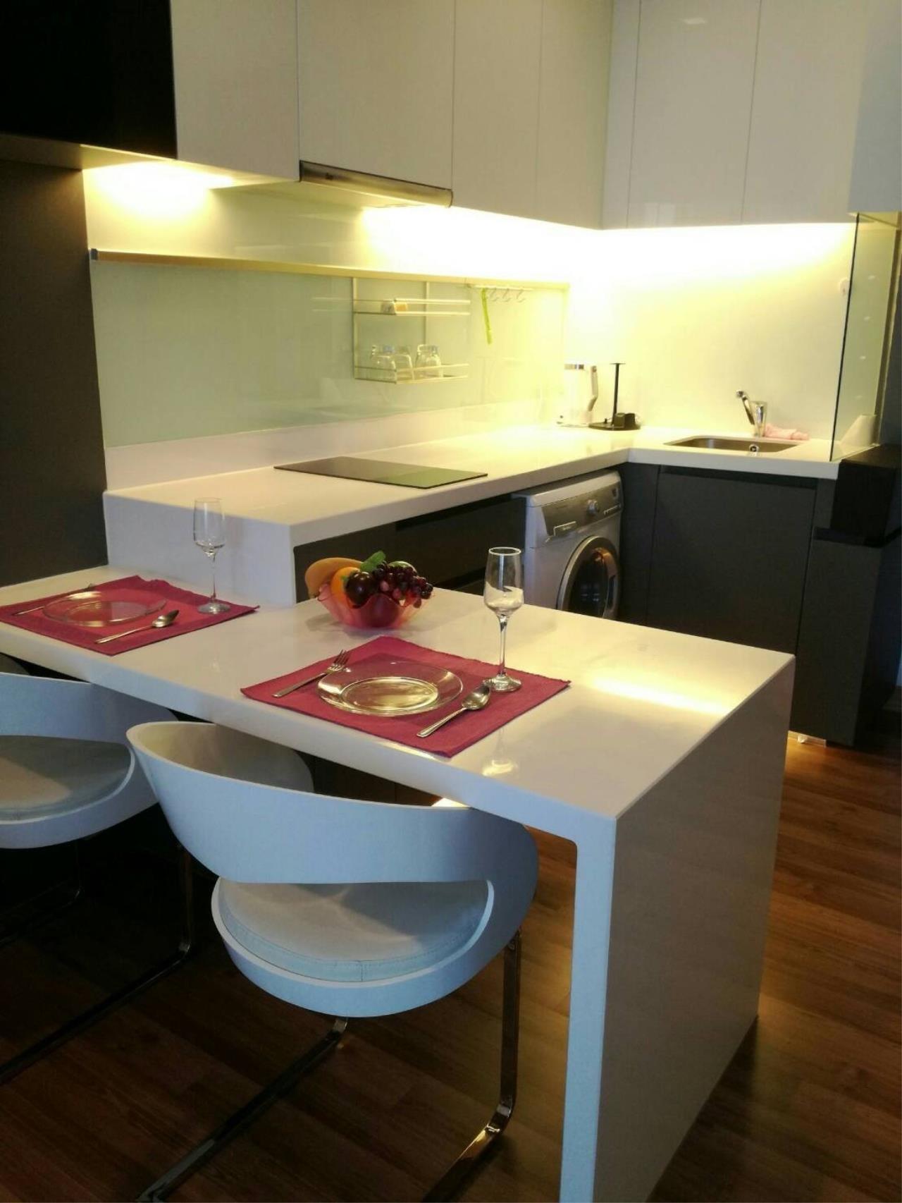 Arken Estate Agency Property Agency near BTS & MRT Agency's For Rent..IVY Ampio 1 bed 1 bath 2