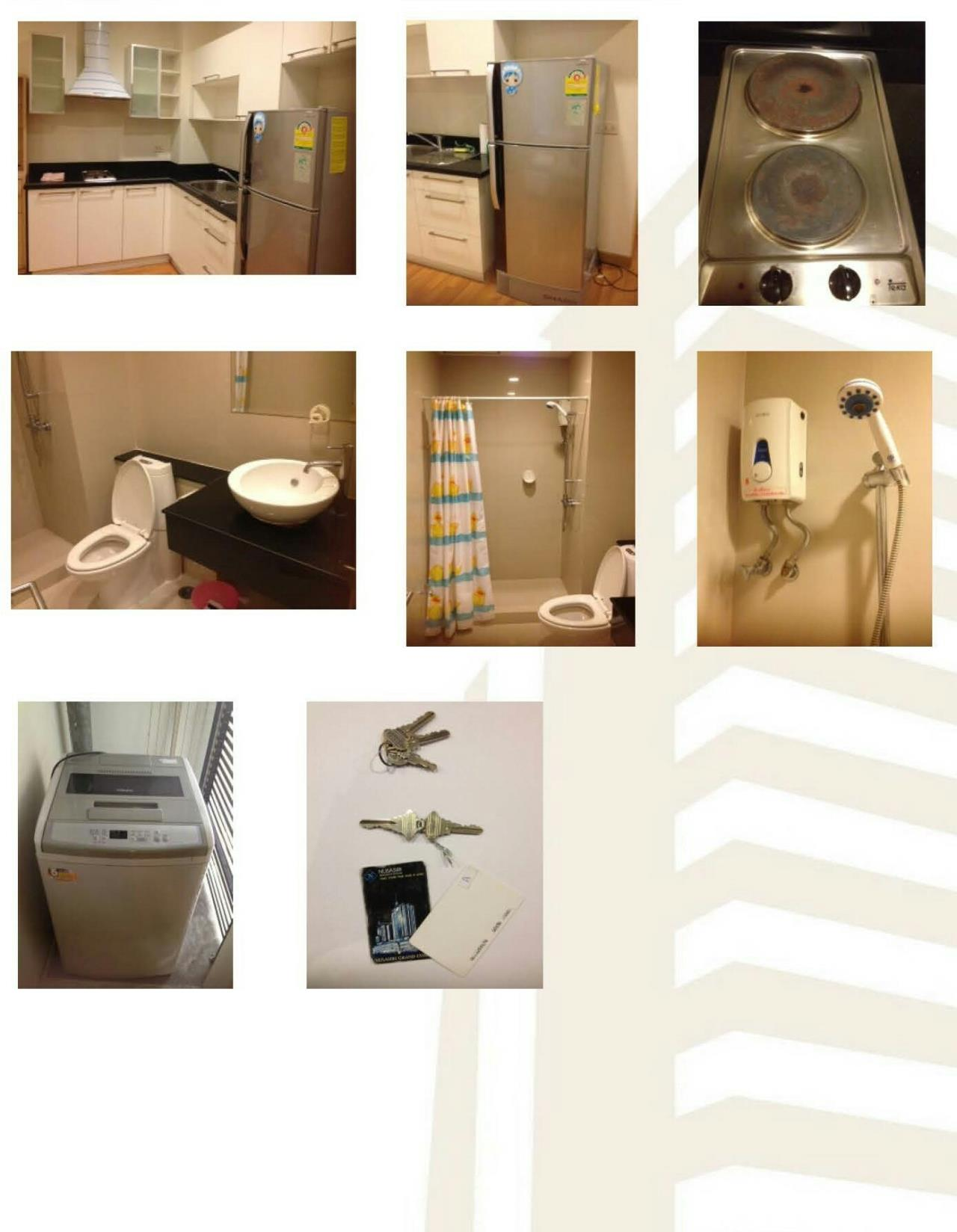 Arken Estate Agency Property Agency near BTS & MRT Agency's For Rent..Nusasiri Grand Ekkamai 1 bed 1 bath 4