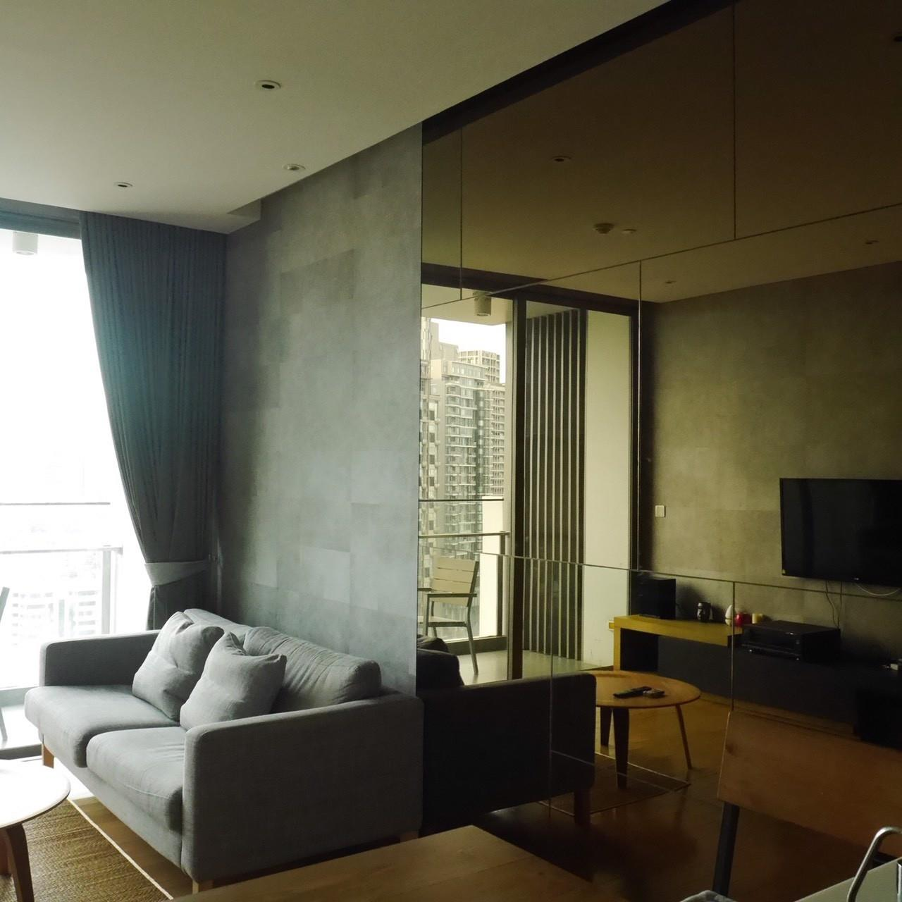 Arken Estate Agency Property Agency near BTS & MRT Agency's For Sale/Rent..Aequa Sukhumvit 49.. 1 bed 1 bath 2