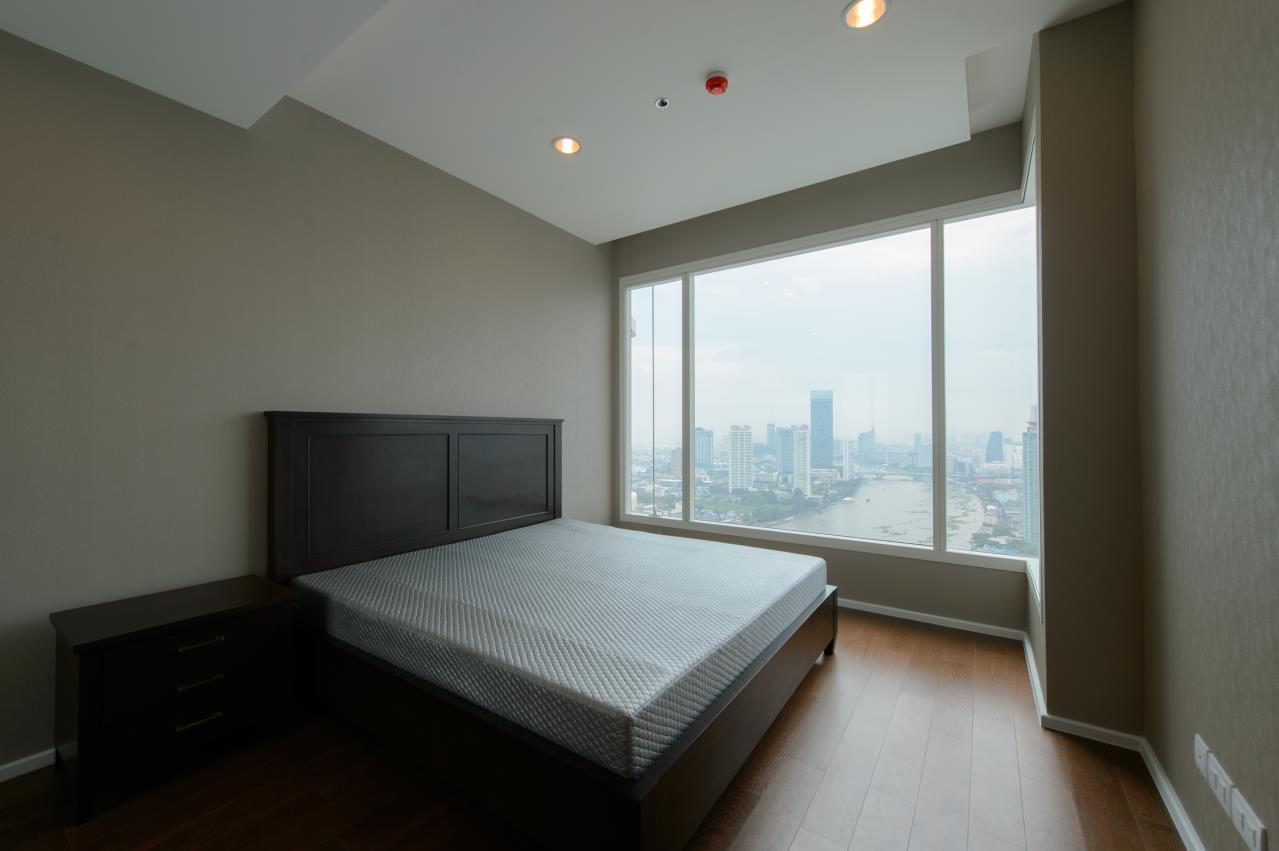 Arken Estate Agency Property Agency near BTS & MRT Agency's For Sale/Rent..Menam Residences 1 bed 1 bath 2