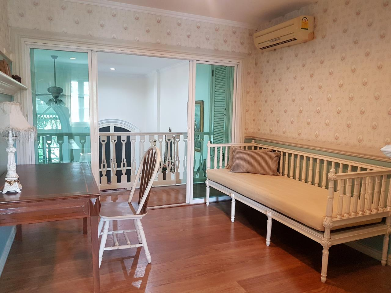 Arken Estate Agency Property Agency near BTS & MRT Agency's For Rent..Townhouse at Fantasia Villa 2 4
