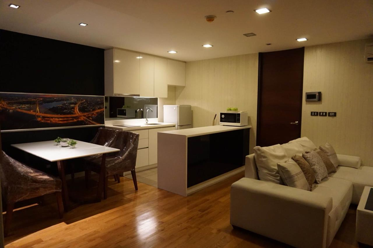 Arken Estate Agency Property Agency near BTS & MRT Agency's For Rent..Quad Silom 1 bed 1 bath 3