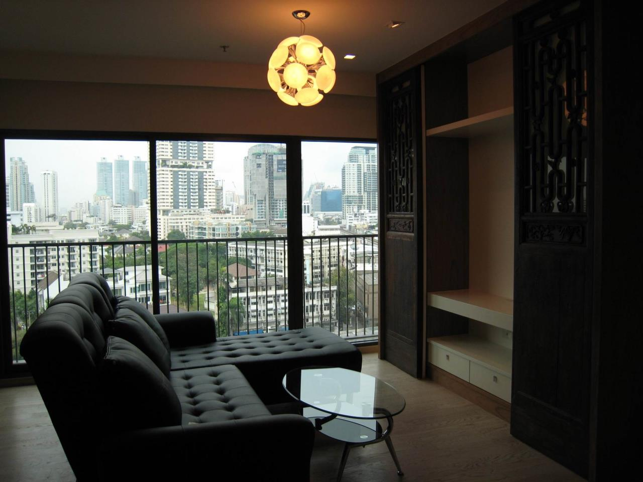 Arken Estate Agency Property Agency near BTS & MRT Agency's For Rent..Noble Remix 1 bed 1 bath, size 60.99 sqm 1
