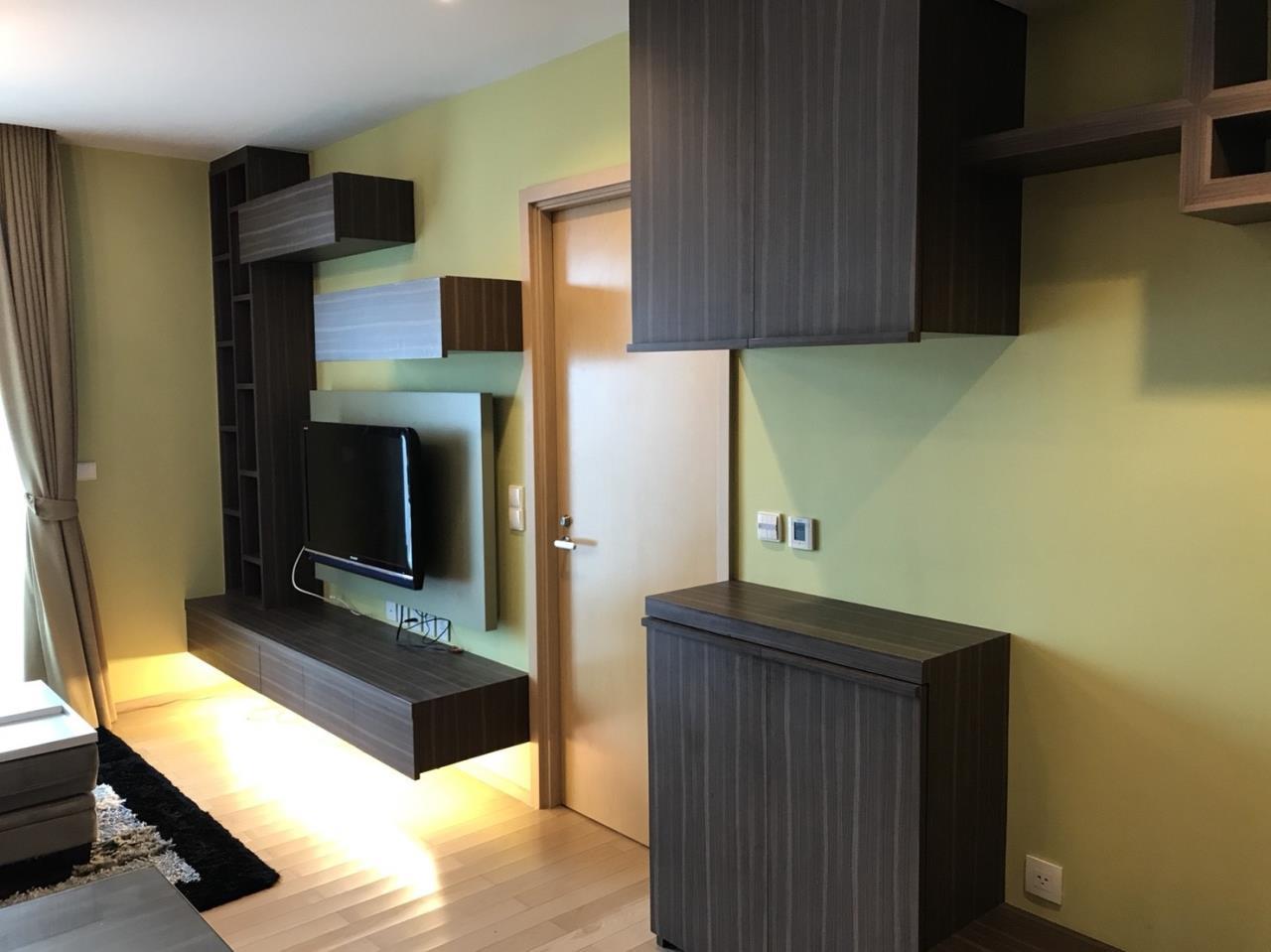 Arken Estate Agency Property Agency near BTS & MRT Agency's For Rent Siri at Sukhumvit 38, 1 bed 1 bath+tub 2