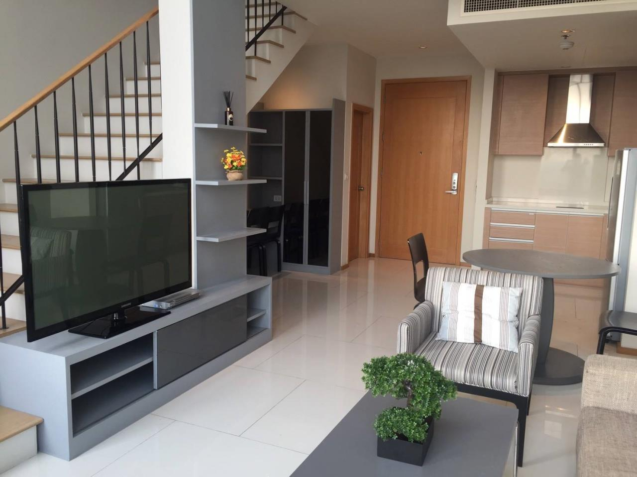 Arken Estate Agency Property Agency near BTS & MRT Agency's For Rent The Emporio Place 1 bed Duplex 5