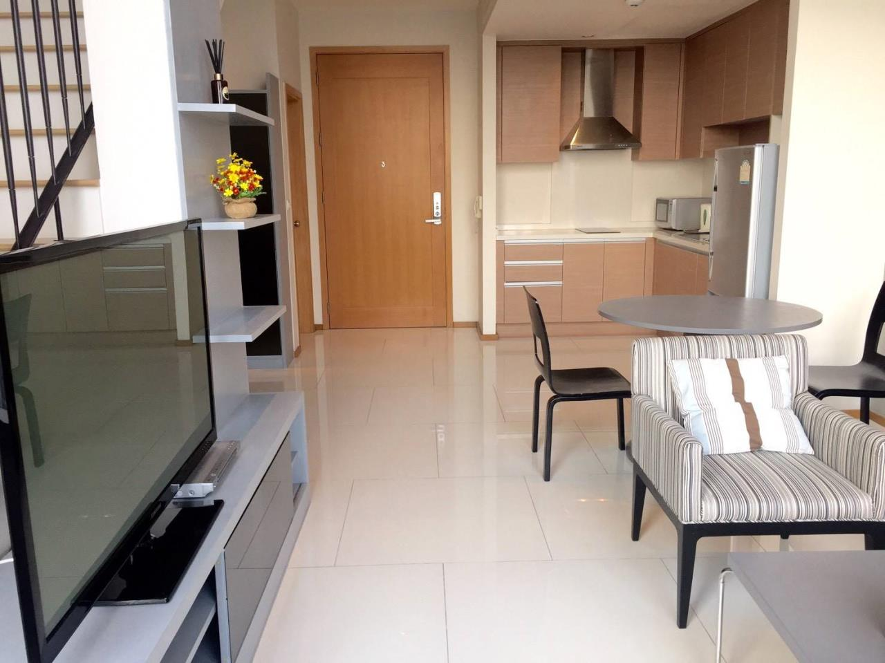 Arken Estate Agency Property Agency near BTS & MRT Agency's For Rent The Emporio Place 1 bed Duplex 8