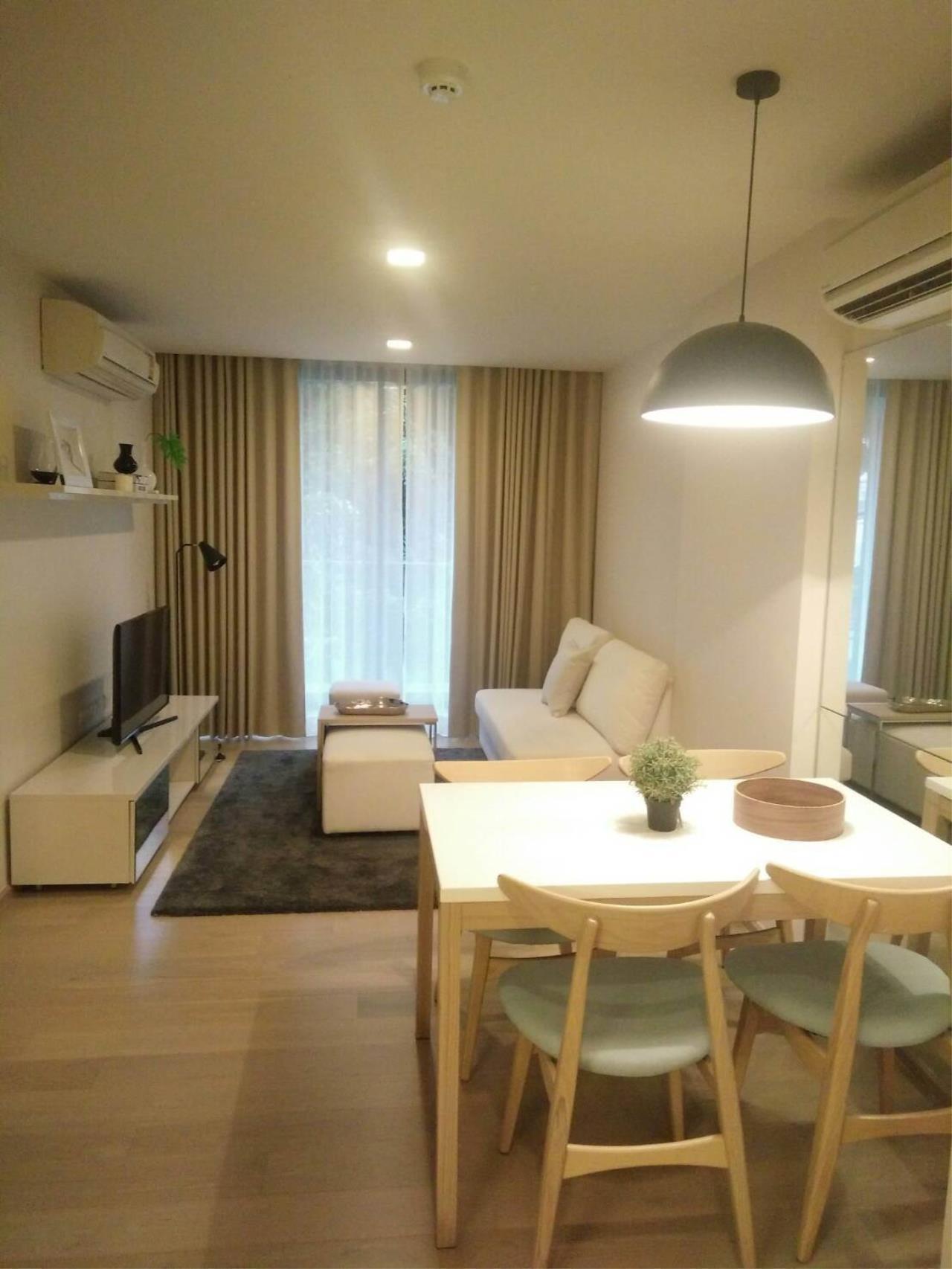 Arken Estate Agency Property Agency near BTS & MRT Agency's For Rent LIV@Sukhumvit 49 size 77.48 sqm 1