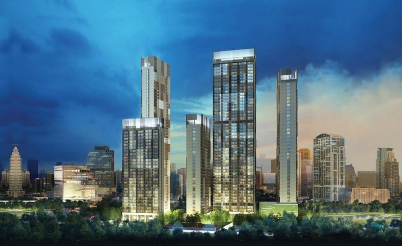 Arken Estate Agency Property Agency near BTS & MRT Agency's For Rent Park 24, 1 bed 1