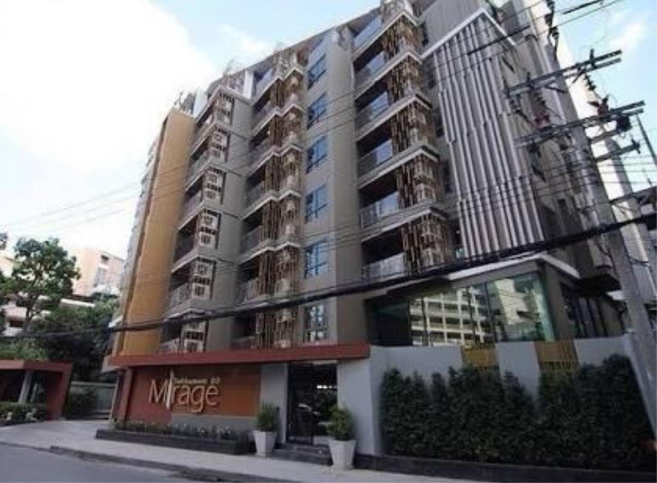 Arken Estate Agency Property Agency near BTS & MRT Agency's For Rent Mirage 27, 1 bed 1 bath 1