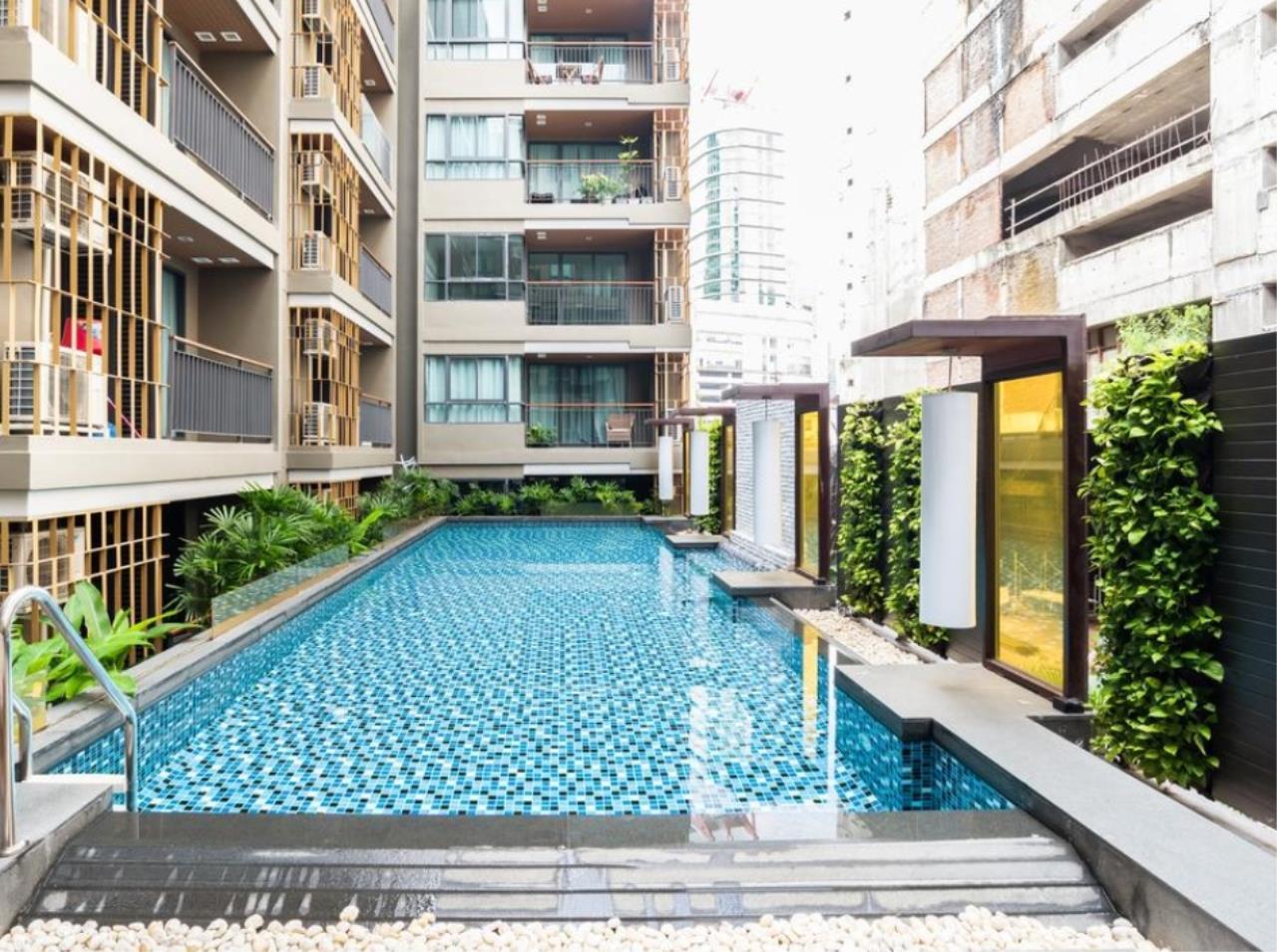 Arken Estate Agency Property Agency near BTS & MRT Agency's For Rent Mirage 27, 1 bed 1 bath 2