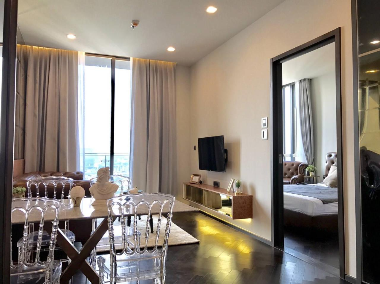 Arken Estate Agency Property Agency near BTS & MRT Agency's For Rent The Monument Sanampao 1 bed 3