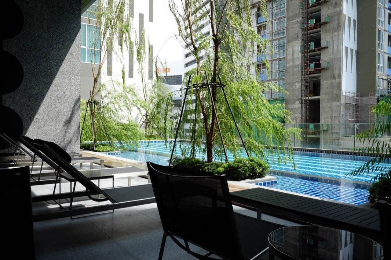 Arken Estate Agency Property Agency near BTS & MRT Agency's For Rent Noble Revolve Ratchada 1 bed 1 bath 1