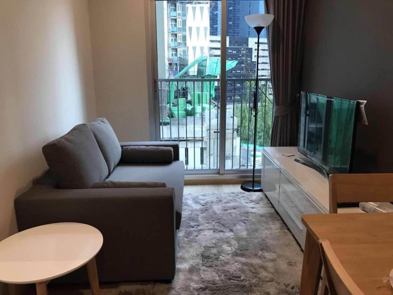 Arken Estate Agency Property Agency near BTS & MRT Agency's For Rent Noble Revolve Ratchada 1 bed 1
