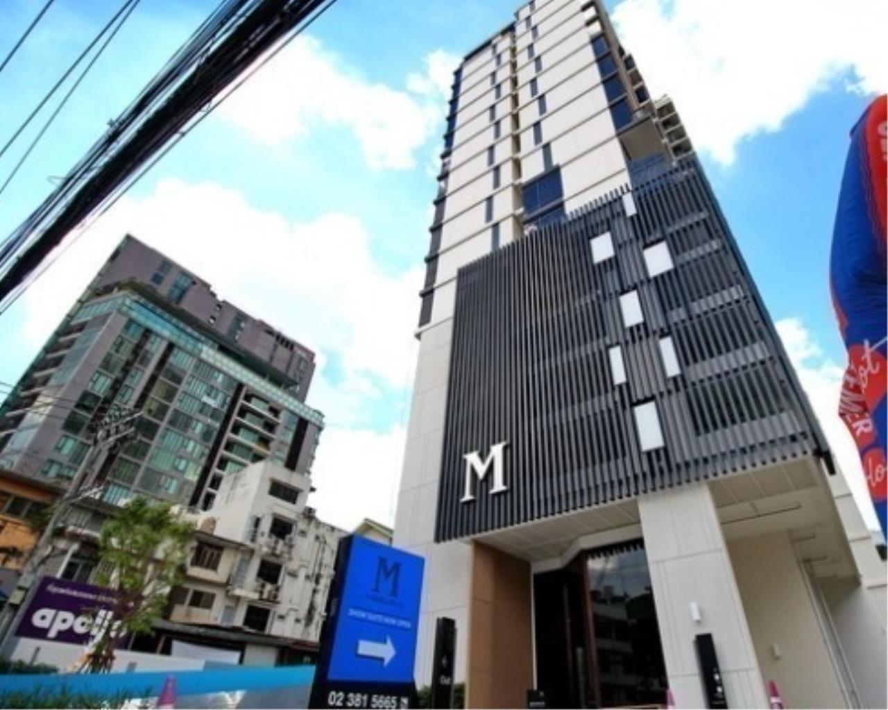 Arken Estate Agency Property Agency near BTS & MRT Agency's For Sale M Thonglor 1 bed  1