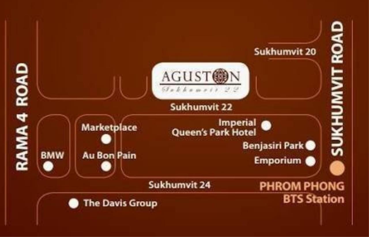 Arken Estate Agency Property Agency near BTS & MRT Agency's For Sale/Rent Aguston Sukhumvit 22, 1 bed 4