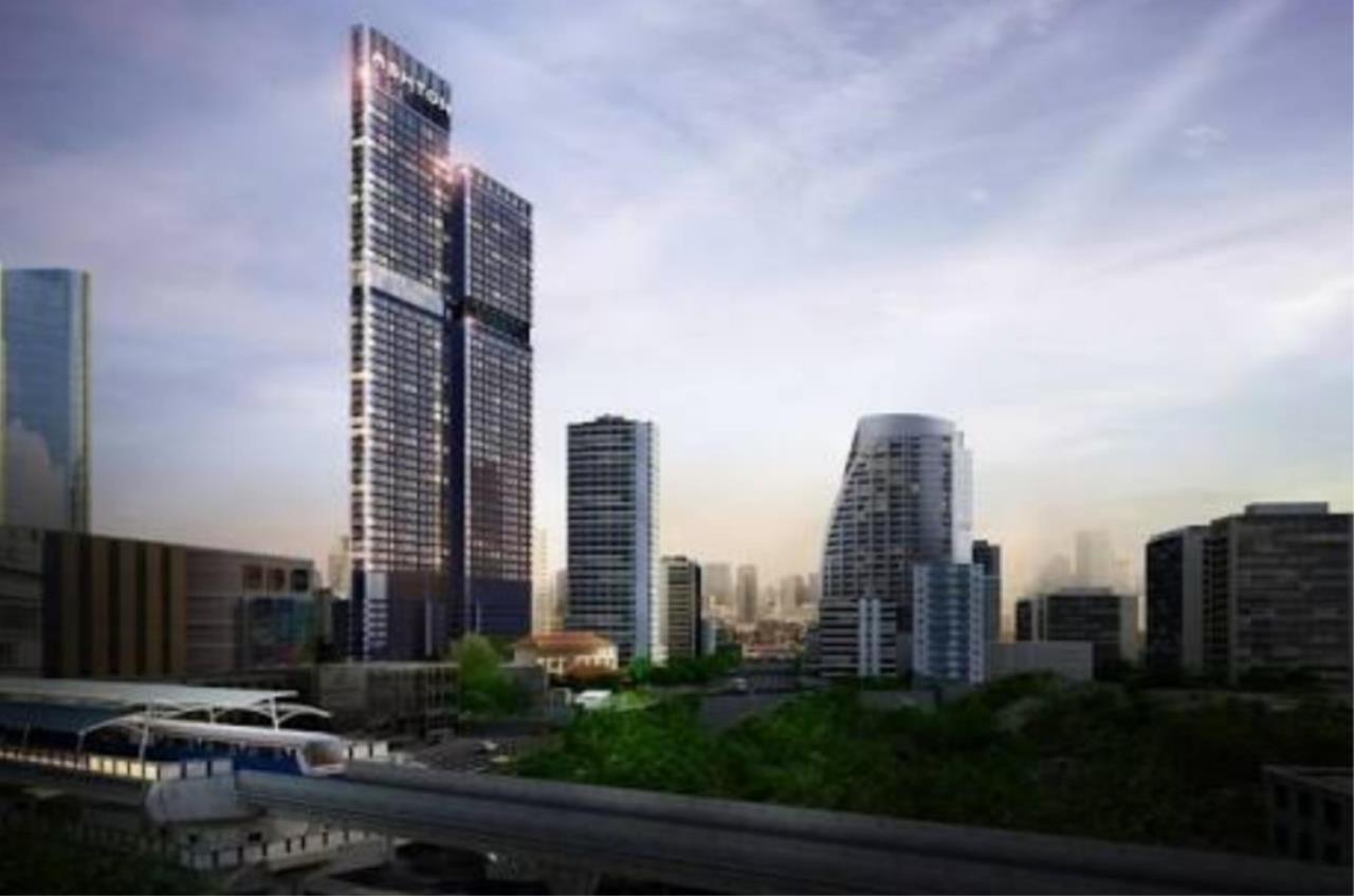 Arken Estate Agency Property Agency near BTS & MRT Agency's Sell Downpayment ASHTON ASOKE unit 28-21 1