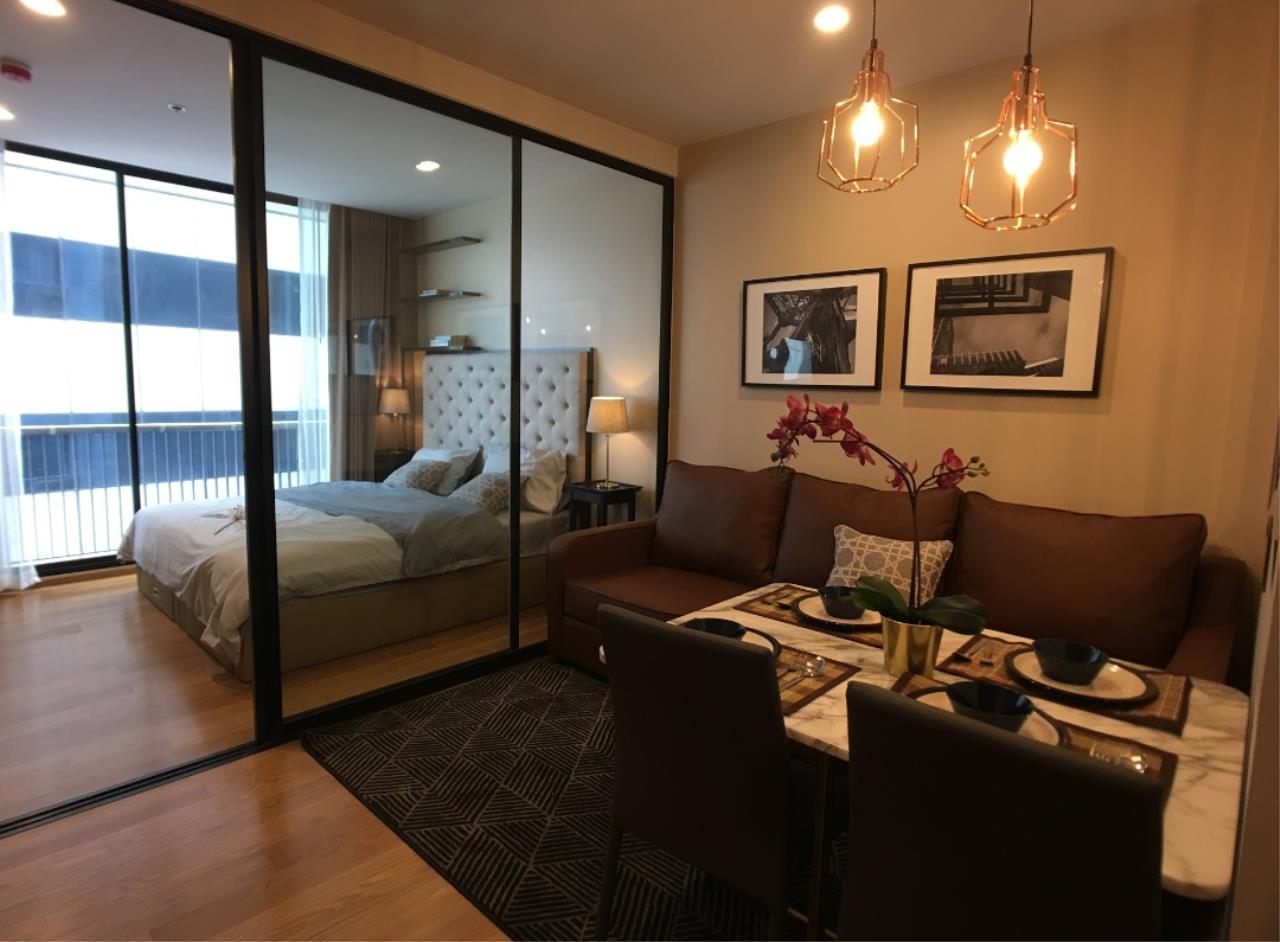 Arken Estate Agency Property Agency near BTS & MRT Agency's For Rent Noble Revo Silom 1 bed 2