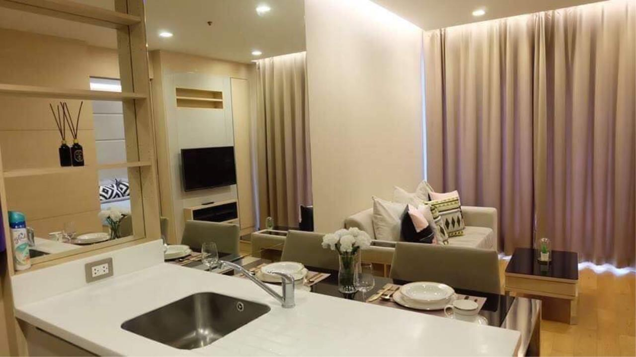 Arken Estate Agency Property Agency near BTS & MRT Agency's For Rent The Address Asoke 1 bed 1 bath 2