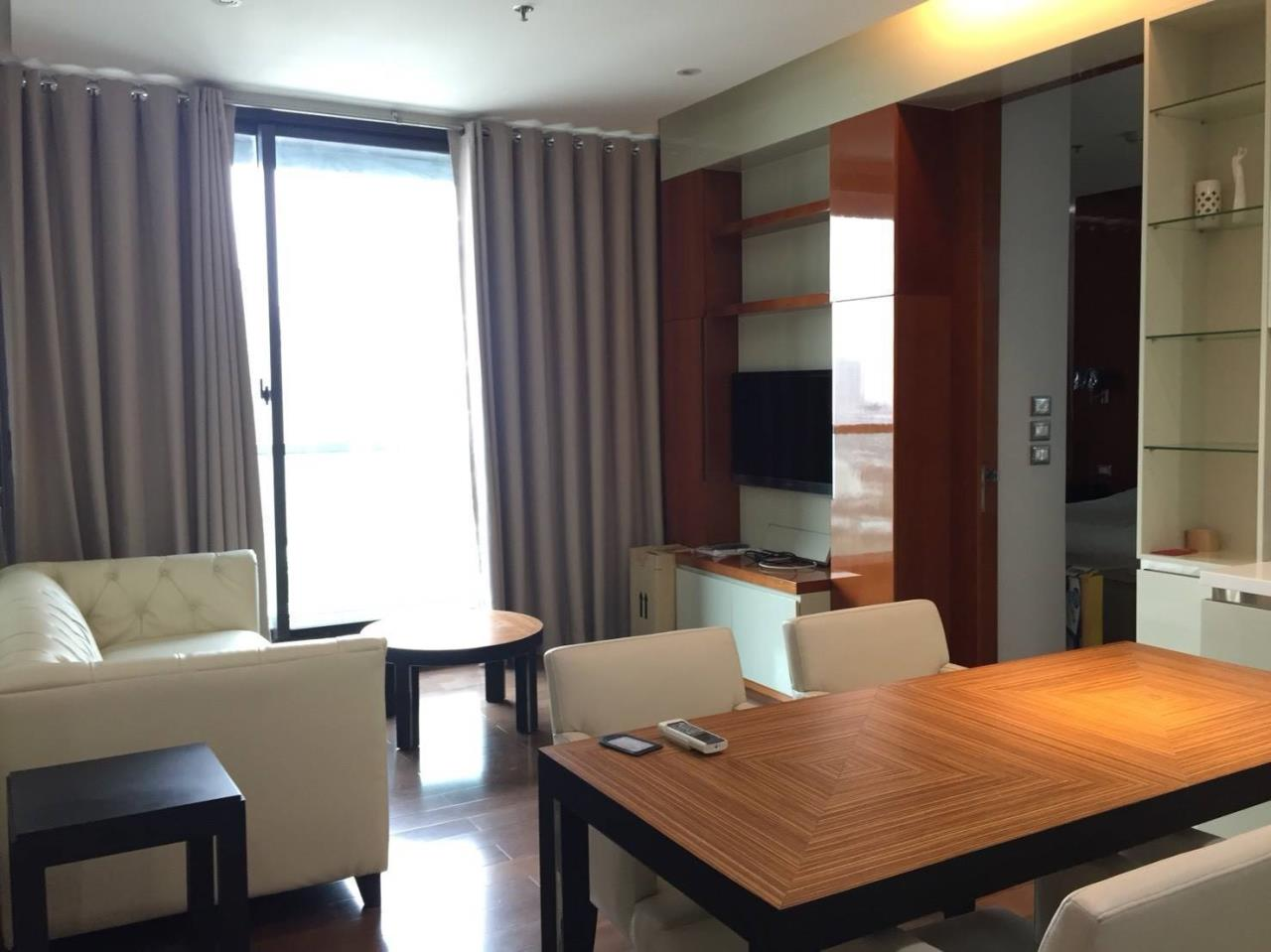 Arken Estate Agency Property Agency near BTS & MRT Agency's For Rent The Address Sukhumvit 28, 2 bed 2 bath 1