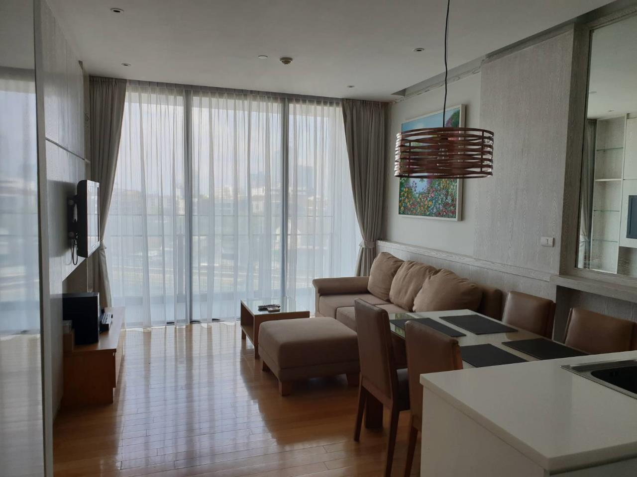 Arken Estate Agency Property Agency near BTS & MRT Agency's For Rent Aequa Sukhumvit 49, 1 bed 1 bath 1